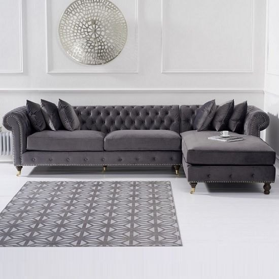 L-Shaped Chesterfield Sofa #LSS45