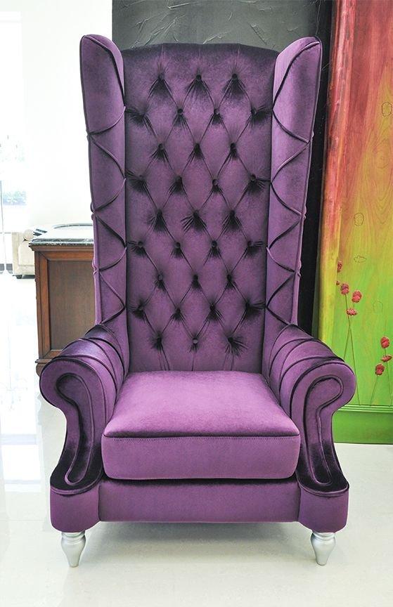 Baroque High Back Chair #SSBC78